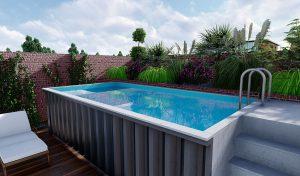 basen w kontenerze